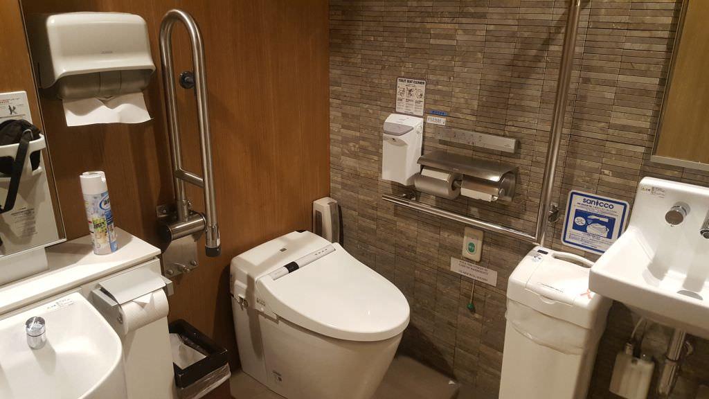Öffentliche Toilette in Japan