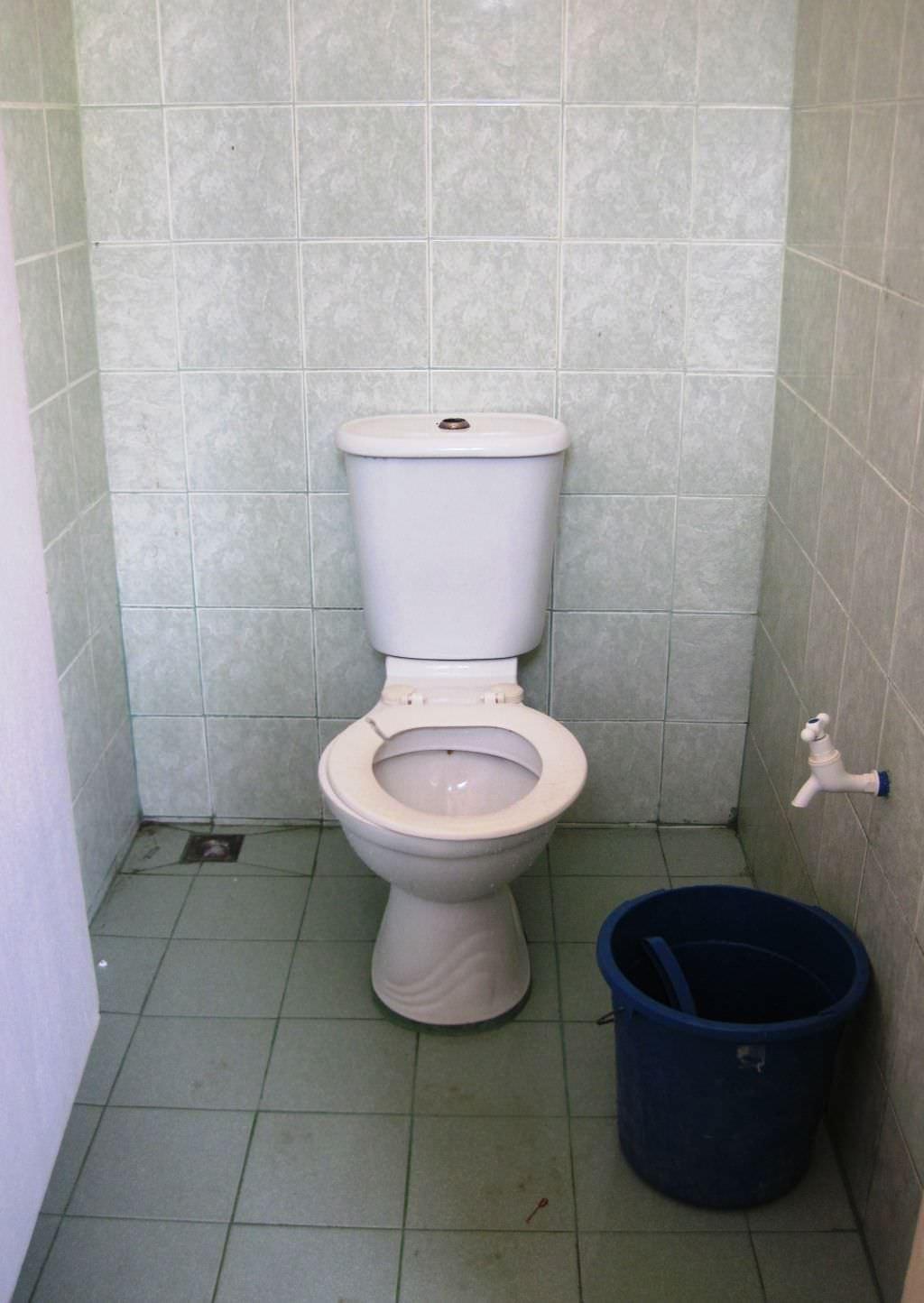 Öffentliches WC auf den Philippinen