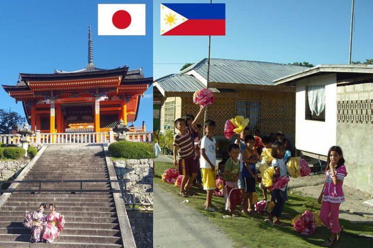 Japan und Philippinen im Vergleich